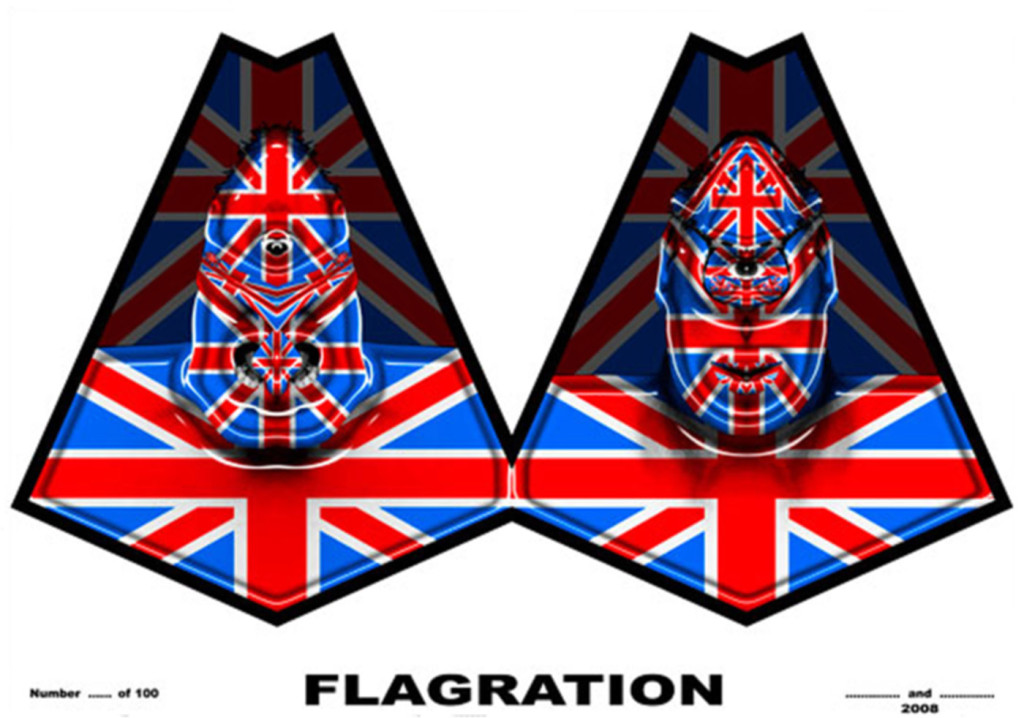Gilbert & George Flagration @ Lichtundfire