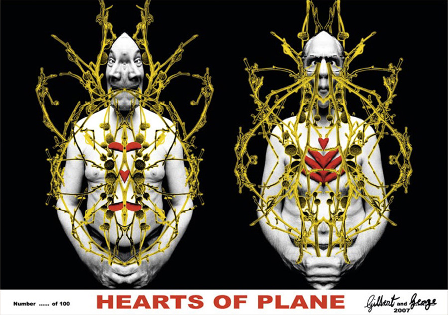 Gilbert & George Hearts of Plane @ Lichtundfire