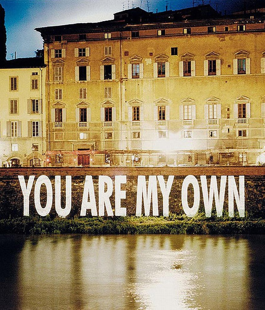 Jenny Holzer You Are My Own @ Lichtundfire