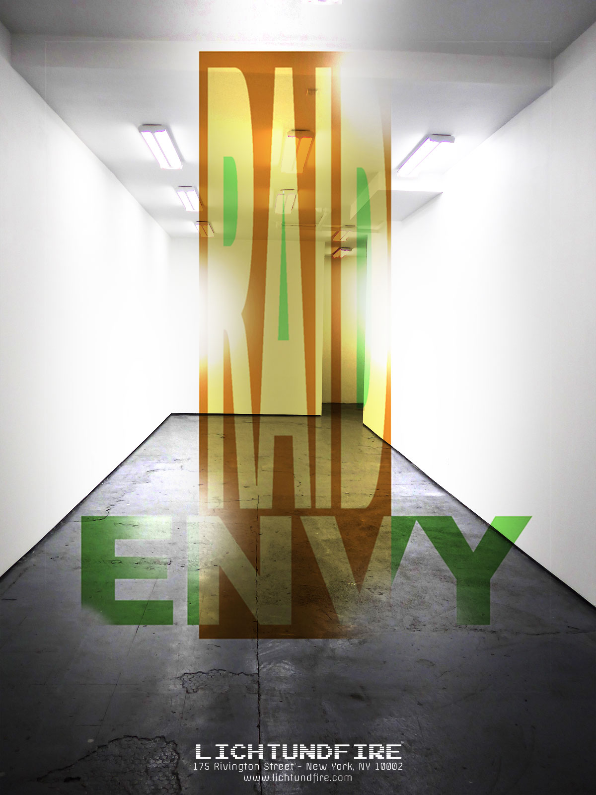 Lichtundfire Gallery Show Raid Envy curated by d Dominick Lombardi