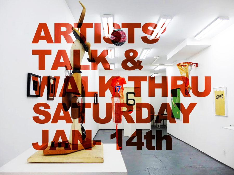 Lichtundfire Artists talk and walk thru January 2017