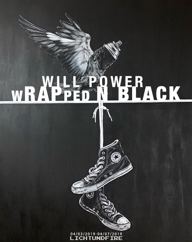 Will Power wRAPped N BLACK April 2019 @ Lichtundfire