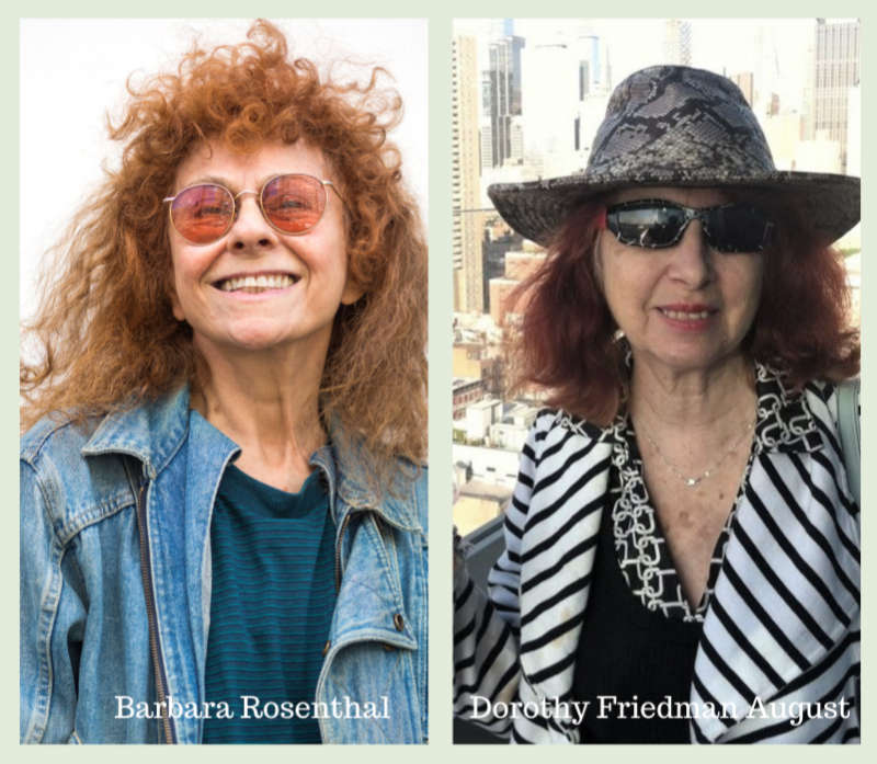 Where Color Lightly Treads @ Lichtundfire READING BARBARA ROSENTHAL & DOROTHY FRIEDMAN AUGUST